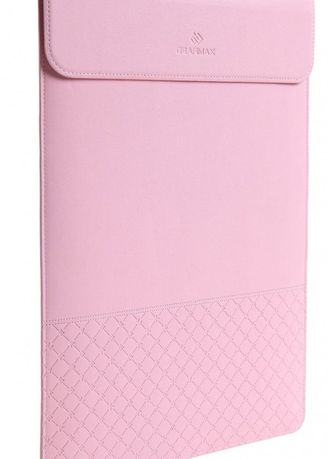 Hand Bags . Original GEARMAX PREMIUM GM4028 15.4 Inch Ultra-thin Envelope Waterproof PU Leather Laptop Case Cover Sleeve Bag Handbag with Mouse Pad for Macbook - Surface Case Sleeve - Pink -