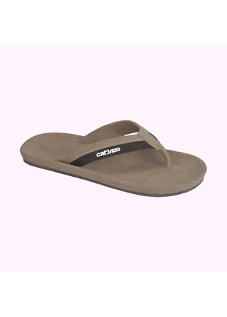 Beige color Sandals and Slippers . Sandal Jepit Pria Catenzo -