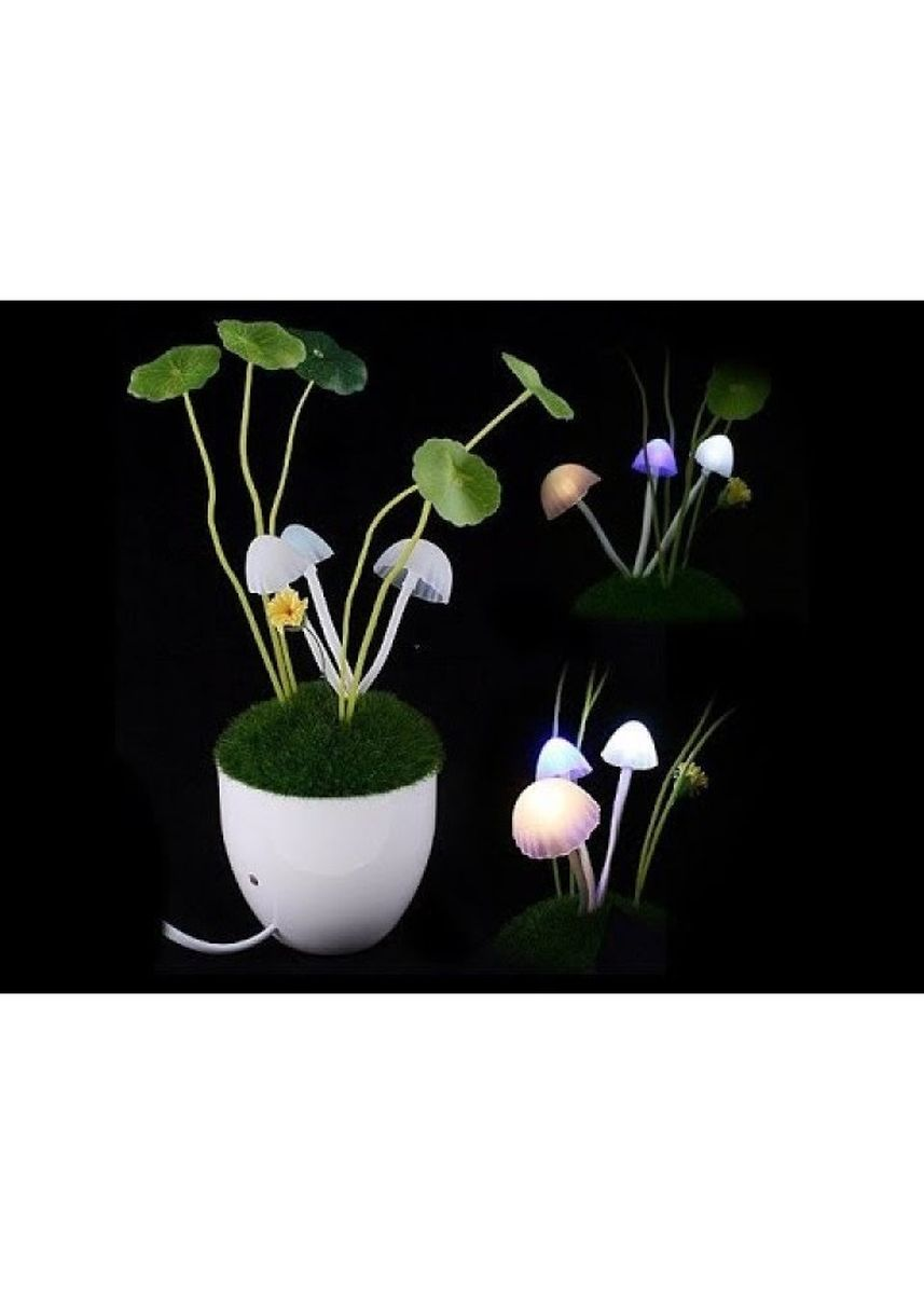 Multi color  . Avatar Ceramic Mushroom Led Light - Lampu Hias -