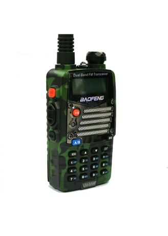 No Color color Camping & Hiking . Radio Walkie Handy Talky HT BAOFENG POFUNG Dual Band 5W UV-5RA - Loreng Army (Camouflage) -