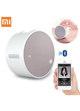 Multi color Home Decor . Original XIAOMI Bluetooth 4.1 Round Music Alarm Clock -