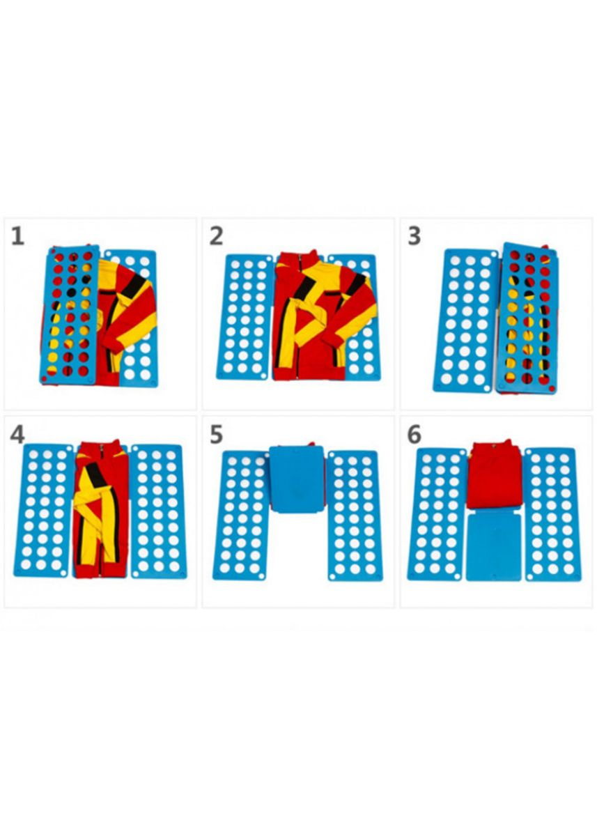 Multi color Storage . Magic Clothing Board - Papan Lipat Baju Praktis Blue -