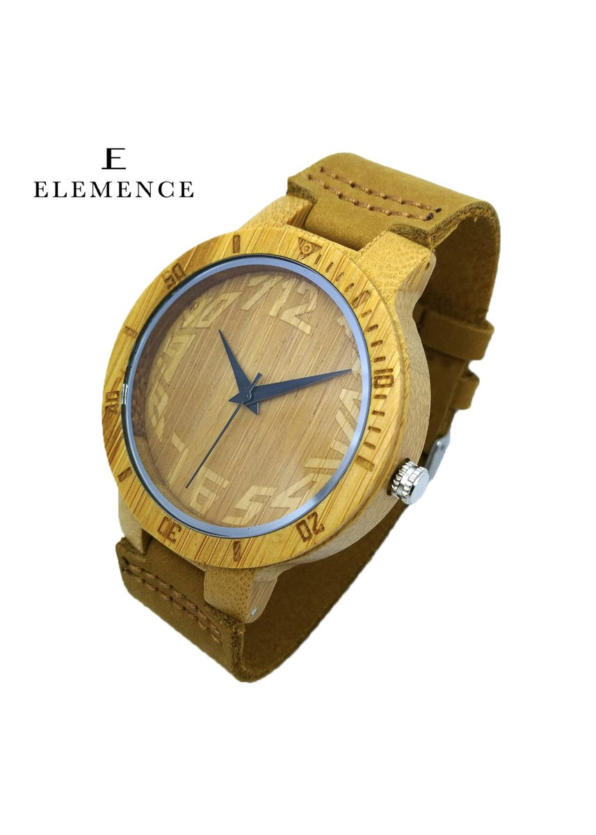 Brown color Analog . Blair Wooden Watch -