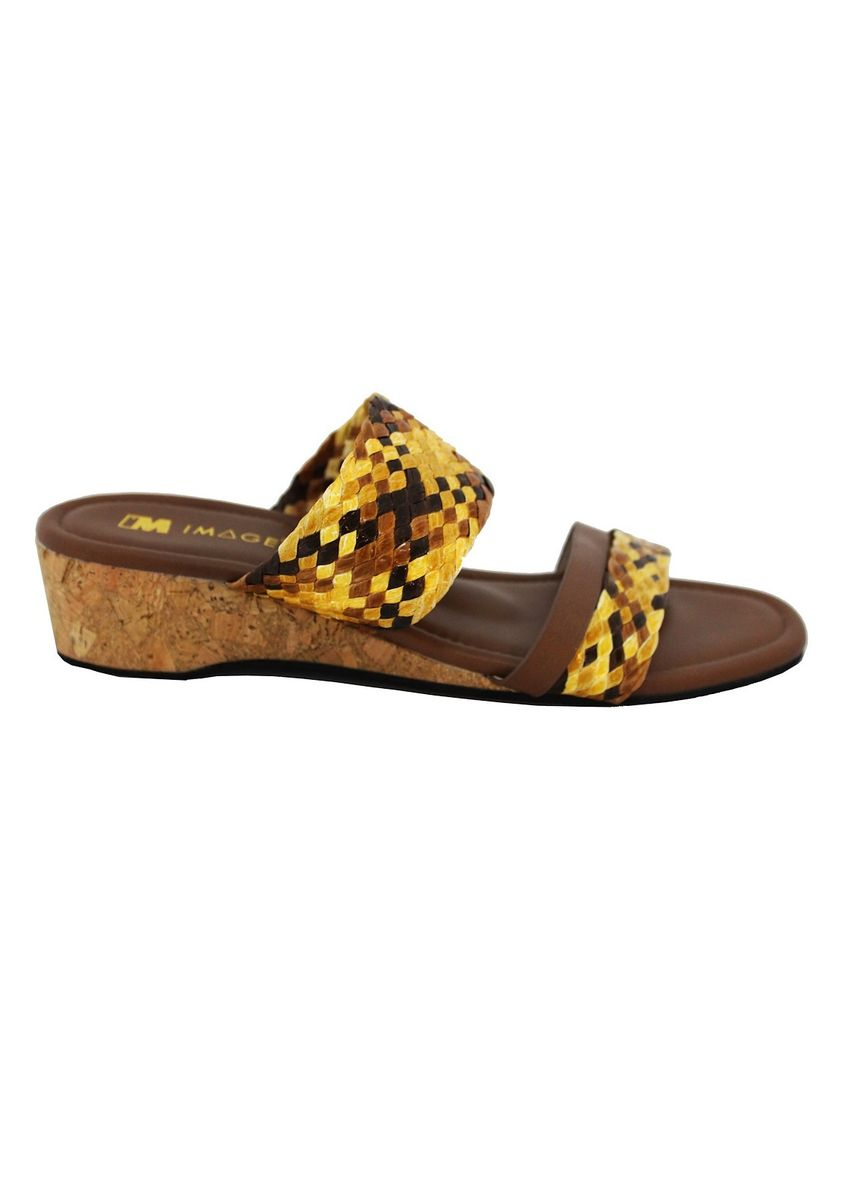 Yellow color Sandals and Slippers . Ladies Comfort sandal -