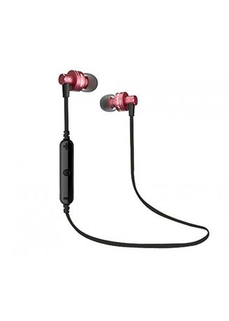 . Original AWEI A990BL Noise Isolation 4.0 Bluetooth Waterproof Sport Mic Red -