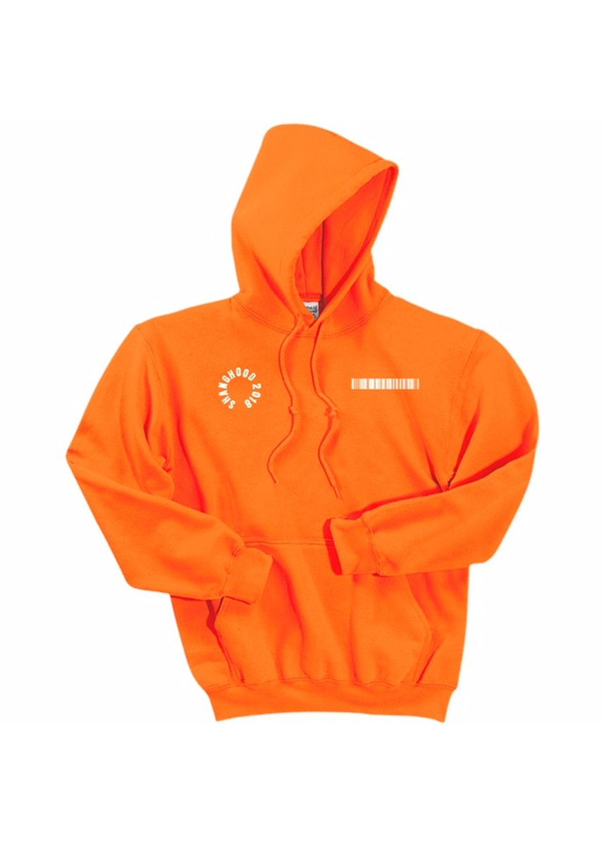 Orange color Jackets . Soul Of The World Test Everything Hoodies -