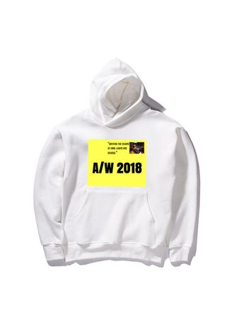 White color Jackets . White Classic Hoodies -