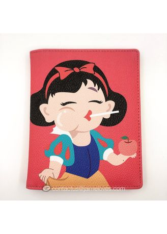Red color Travel Wallets & Organizers . Bentoy - SNOW WHITE -