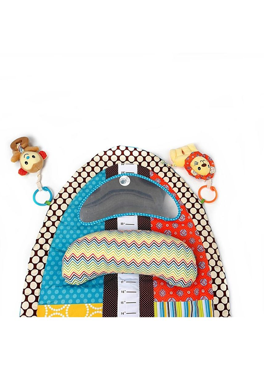 Multi color Toys . Sozzy Multifunctional Baby Tummy Time Playmat- Educational & Learning Toy -