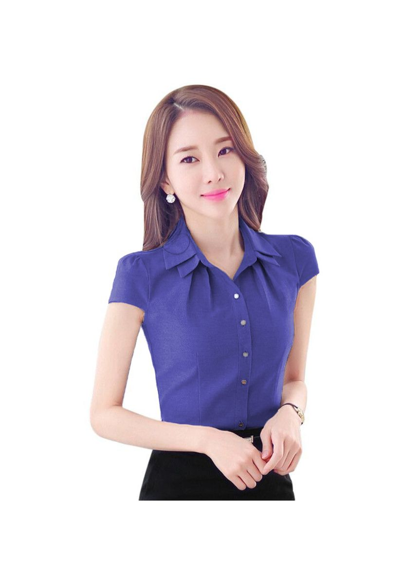 Blue color Tees & Shirts . BTS Maurice Blouse -