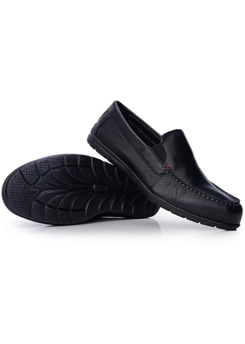 Black color Casual Shoes . GINO MARIANI LEANDER 6 Exclusive Genuine Leather Casual Men's Shoes -