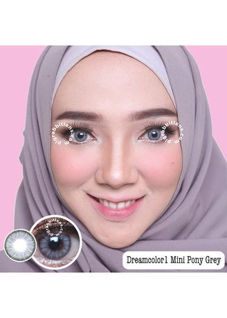 Dreamcolor1 Mini Pony Grey Softlens | Women's Contact Lenses