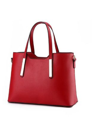 Red color Hand Bags . Women Fashion Handbags -