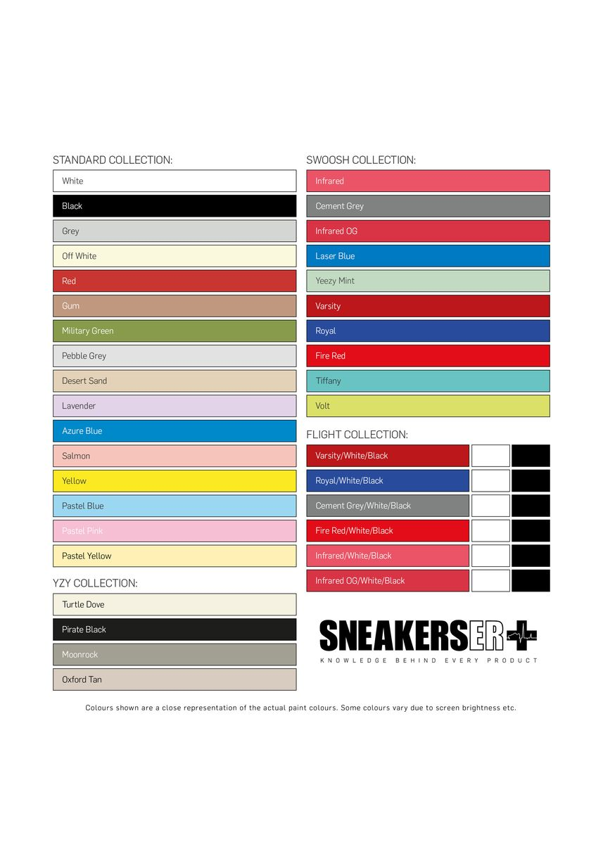 No Color color Polishes & Cleaners . SneakersER Midsole Paint Pen (Red) -
