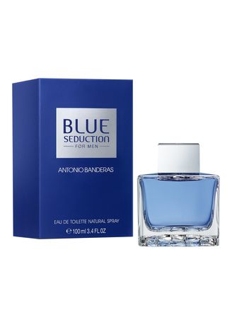 Khaki color Parfum . Antonio Banderas Blue Seduction . Eau de Toilette 100 ml -