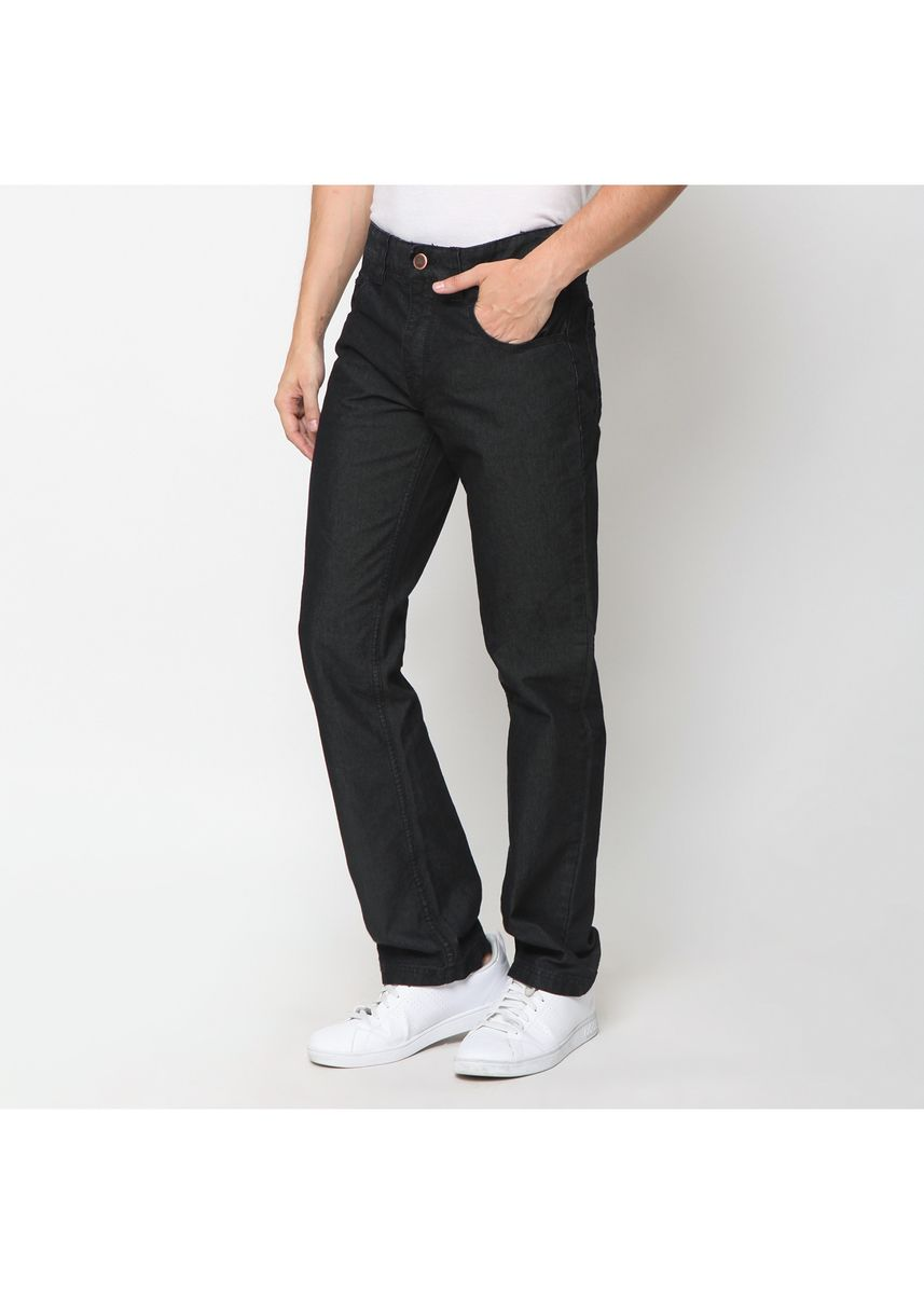 Black color Jeans . EMBA CLASSIC-Orland Warna Overdyed -