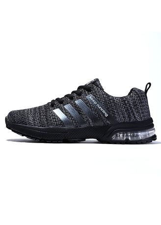 Black color Sports Shoes . D.TALO Athletic Running Shoes-2 -