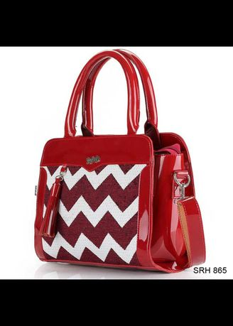 Red color Hand Bags . HandBag for women need -
