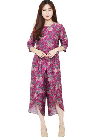 Ungu color Atasan & Tunik . Set Alladin Dakota Violet Magenta -