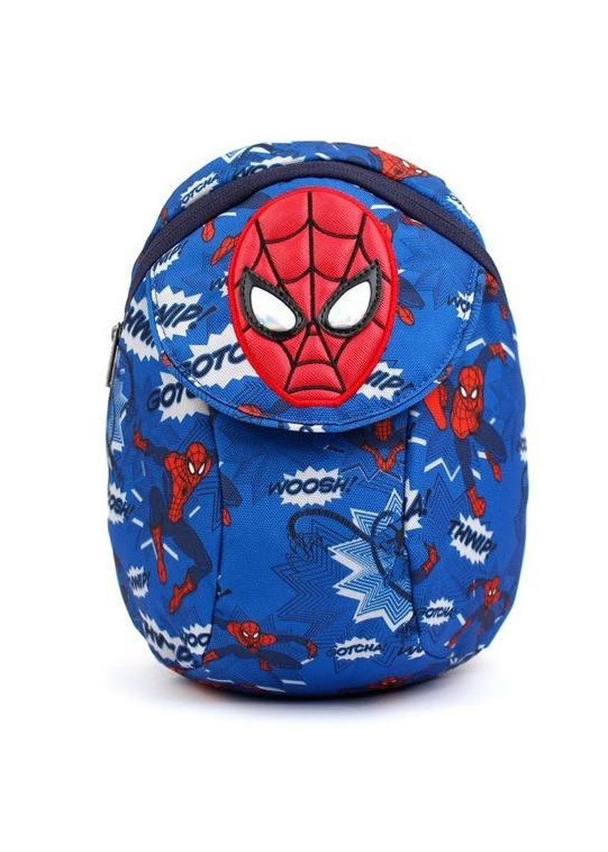 Navy color Bags . Winghouse Spiderman Layer Backpack -