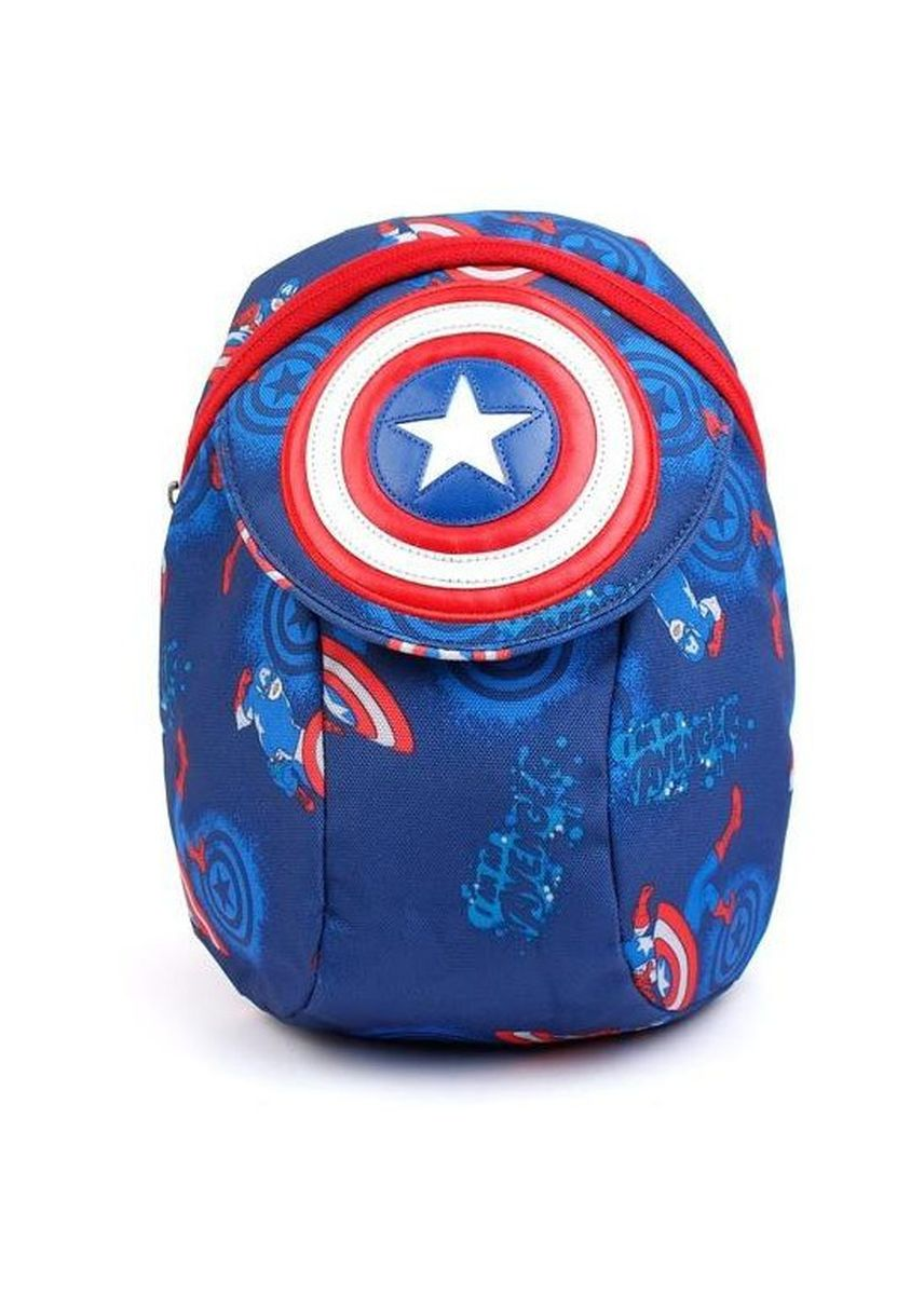 Navy color Bags . Winghouse - Captain America Layer Backpack -