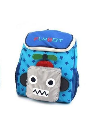 Light Blue color Bags . Winghouse - Flybot Sky Backpack -