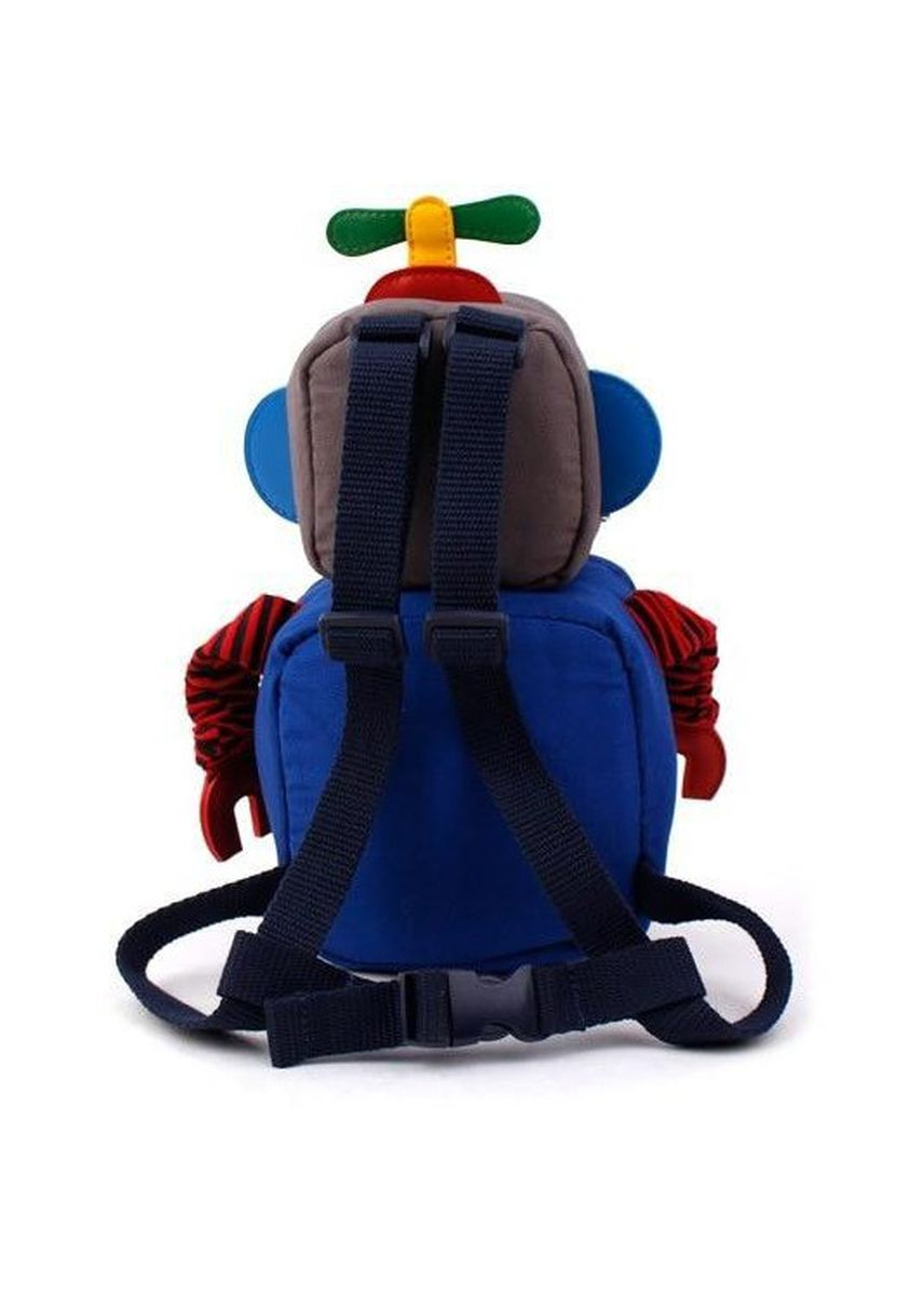 Blue color Bags . Winghouse - Flybot Toy Safety Backpack -