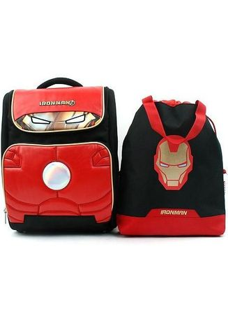 Black color Bags . Winghouse - Ironman Dimension Backpack Set -