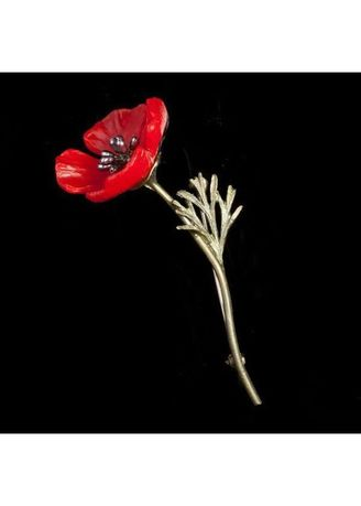 Red Poppy Pin | Women - Other Accessories | Zilingo Philippines
