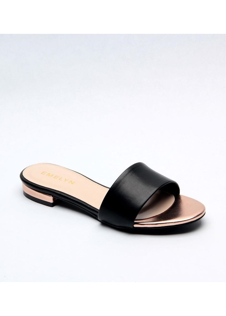 Black color Flats . Gabrielle Flats -