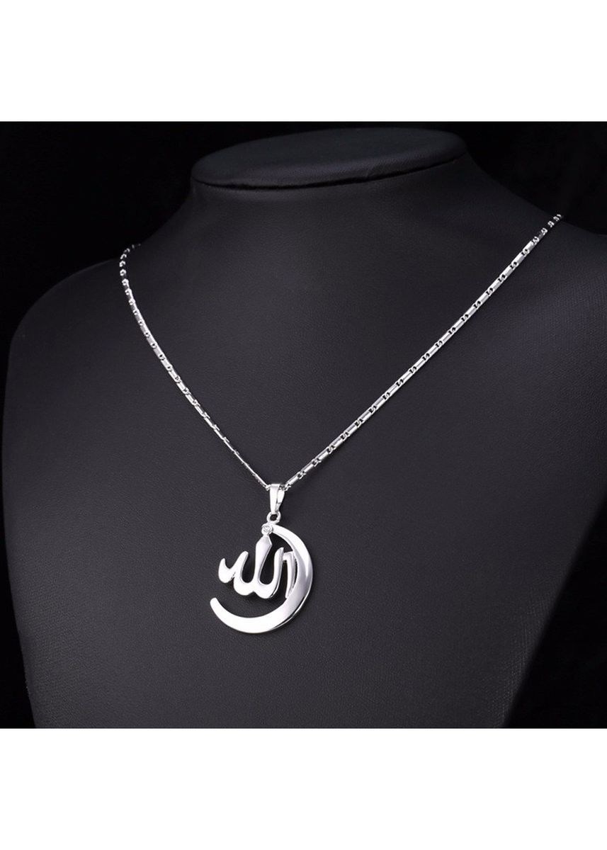 Silver color  . Tiaria Necklace Ramadhan Design 35 Aksesoris Lapis Emas -