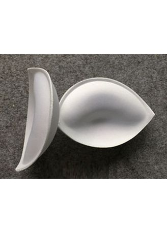 White color Bras . Thick  Inserts Chest Pad -
