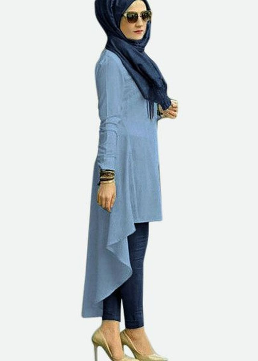 Blue color Tops . Good Fashion Isadora Tunik -