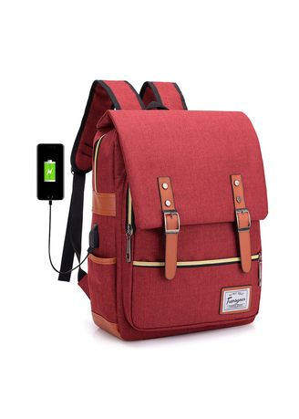 61c73929956 Vintage Laptop Backpack for Women Men