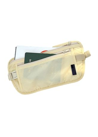 Travel Wallets & Organizers . Security Travel Waist Pouch - Free 2-Sided Card Case -