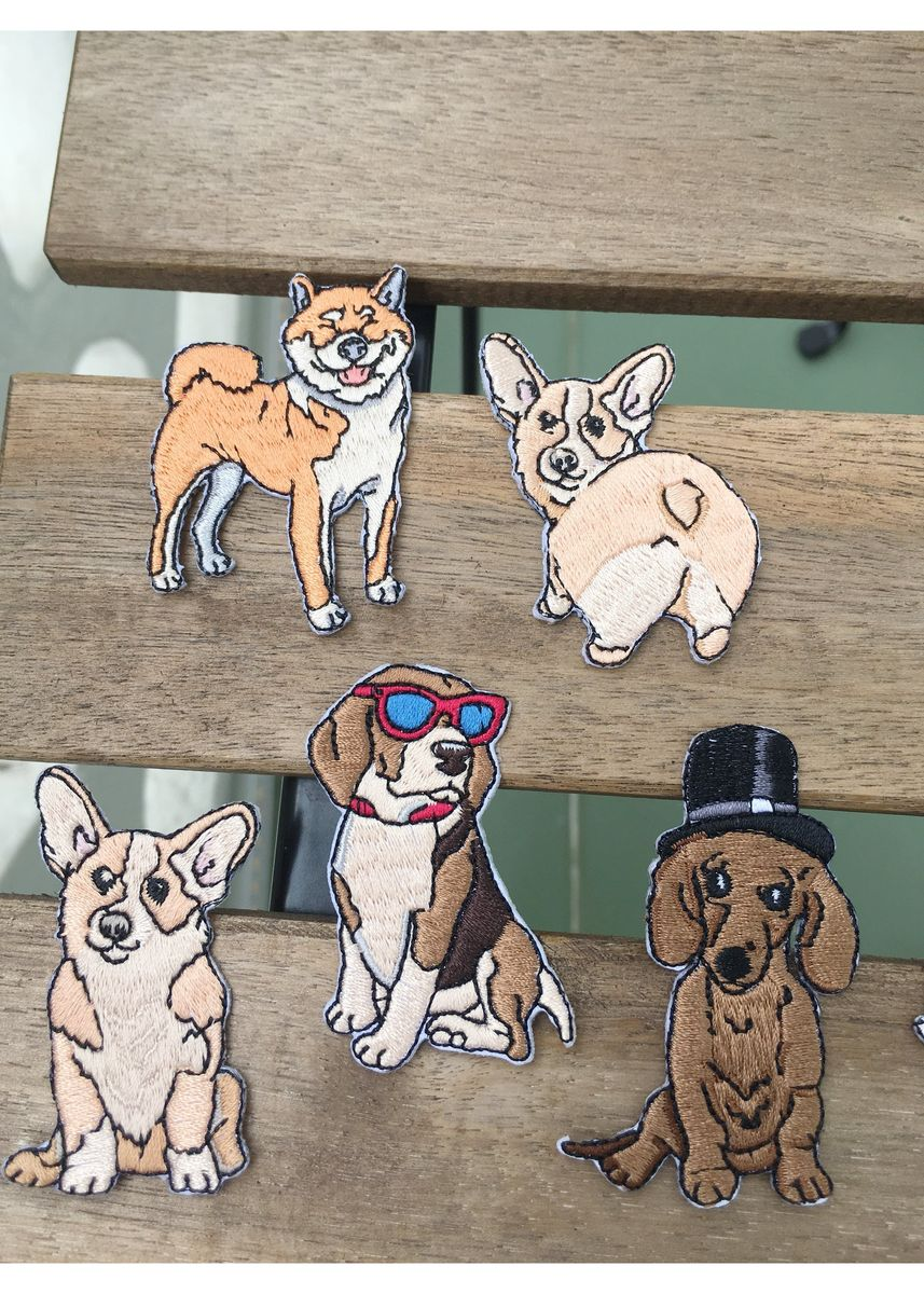 Multi color Other . Magnus The Beagle Sticker Patch -