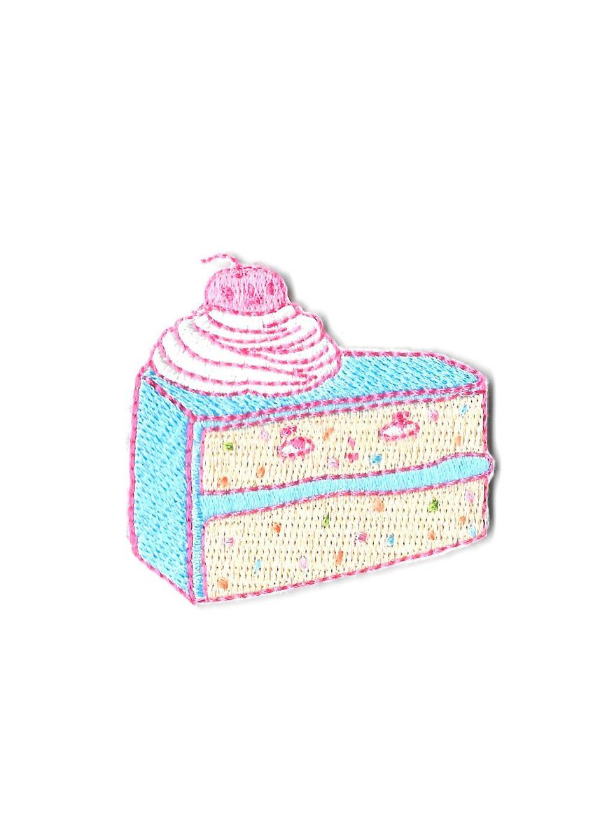 Multi color Other . Pew Pew X Christashell: Not A Birthday Cake Sticker Patch -