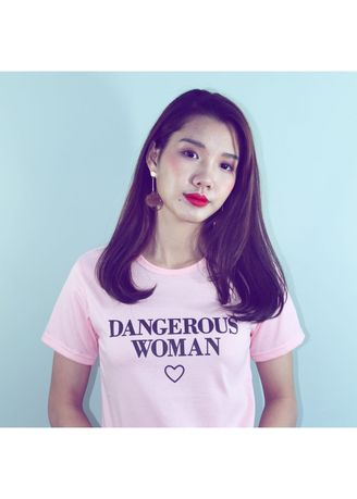 Tees & Shirts . HANAMI DANGEROUS WOMAN ALL SIZE FIT TO L -