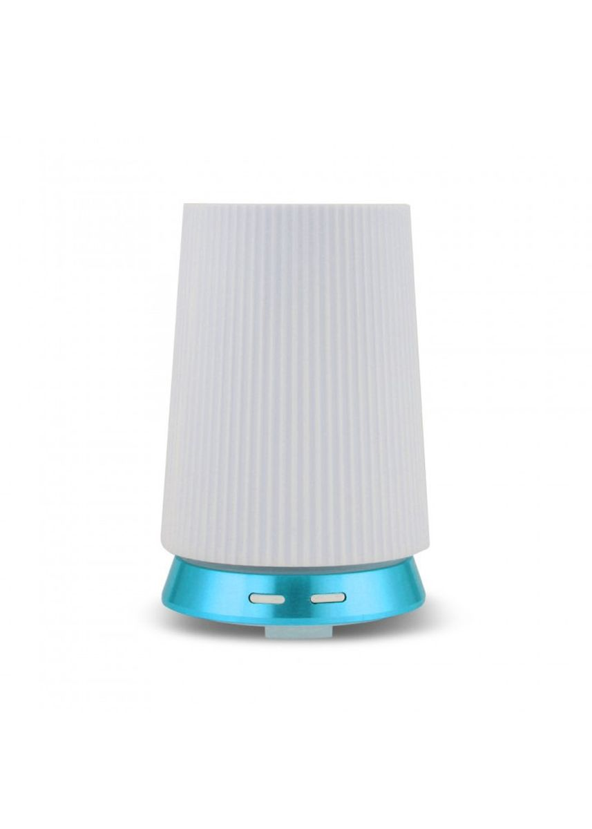Blue color Home Fragrances . H44 Humidifier Essential Oil Diffuser Purifier LED Light 100ml Blue -