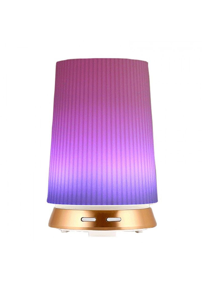 Gold color Home Fragrances . H44 Humidifier Essential Oil Diffuser Purifier LED Light 100ml Gold -