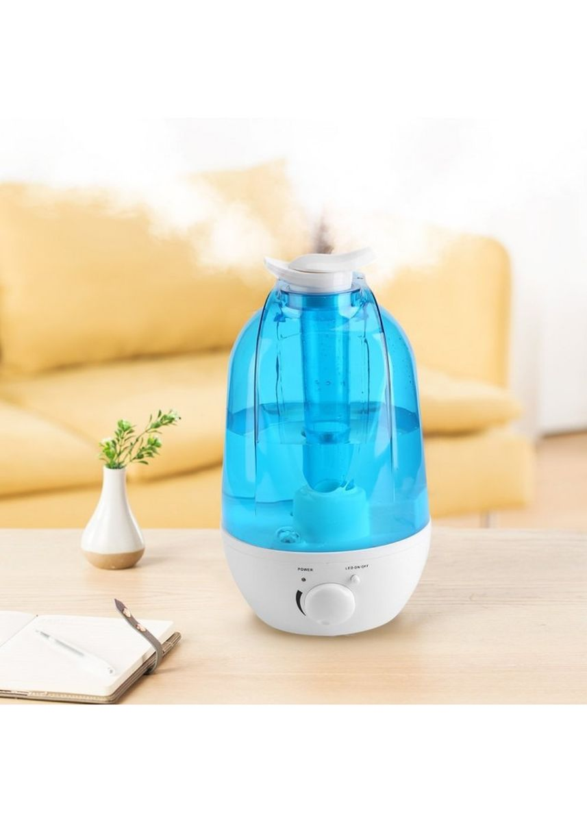 Multi color Home Fragrances . X03 Dual Mist Noozle Humidifier Air Purifier 360 Degree Mist 3L -