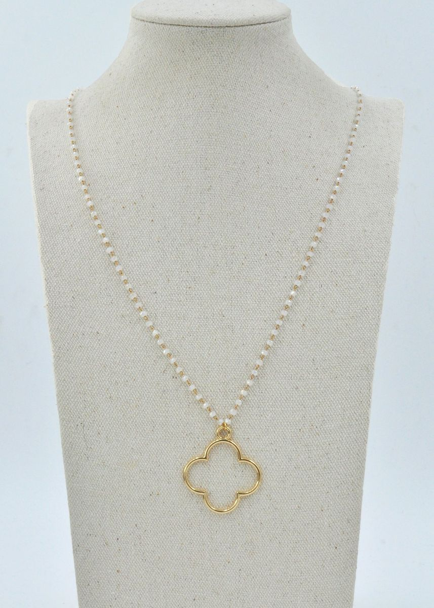 White color  . Andee Necklace -