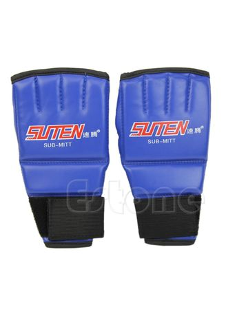 Cool MMA Muay Thai Half Mitts Punching Bag Sparring Boxing Gloves Gym Training