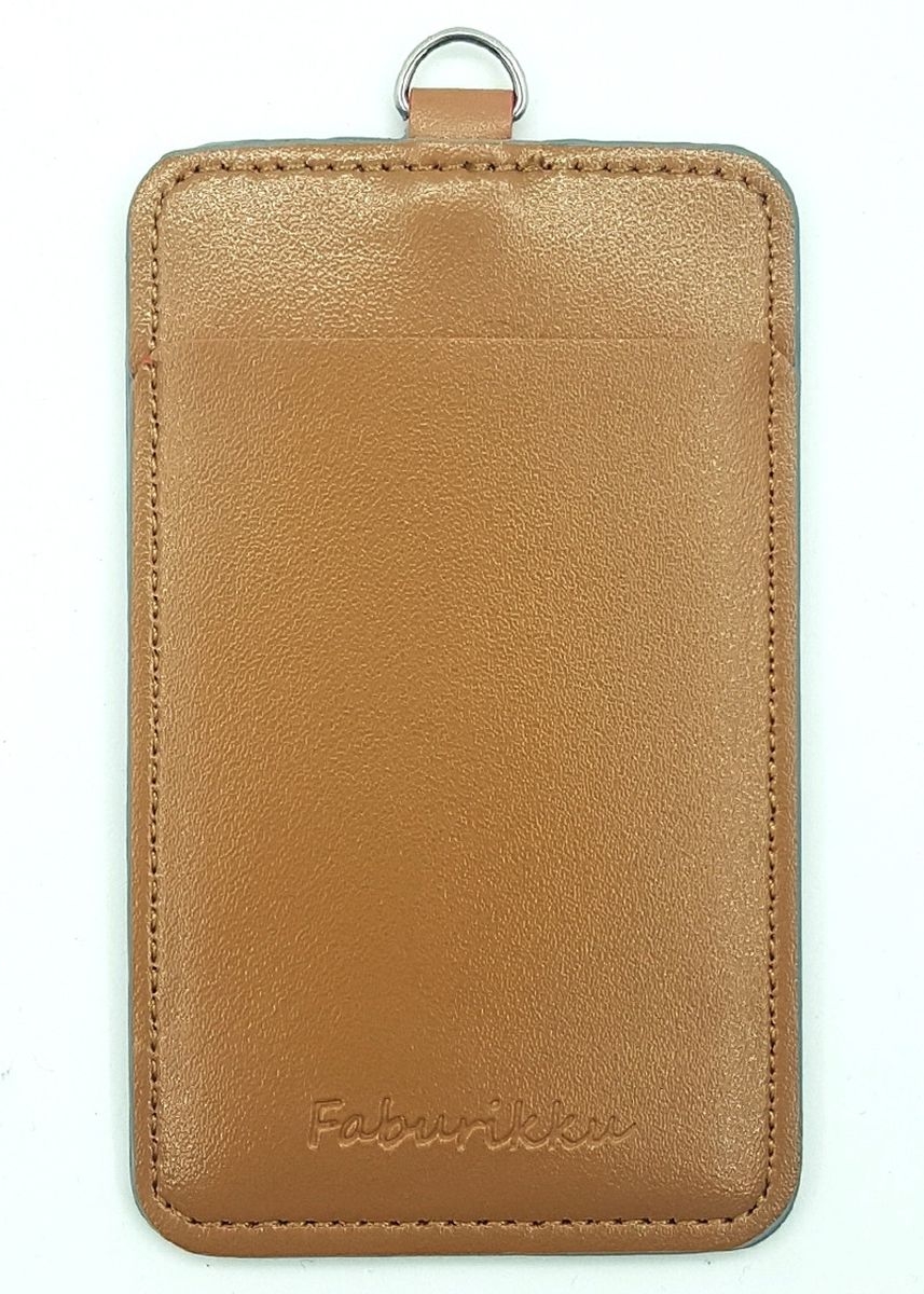 Brown color Wallets and Clutches . 10Pcs Slim PU Deluxe Card Portrait -