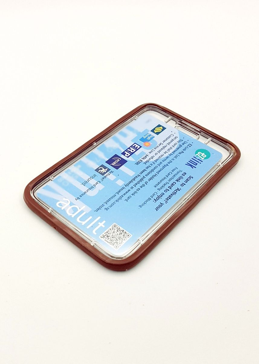 Brown color Wallets and Clutches . Silicon Hardcase Deluxe Card Portrait -