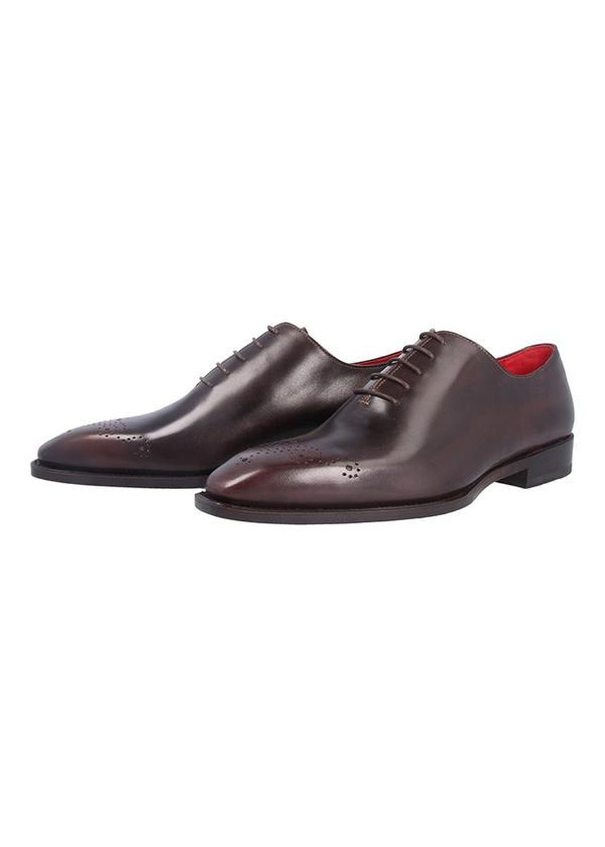 Brown color Formal Shoes . George Patina Formal Shoes -