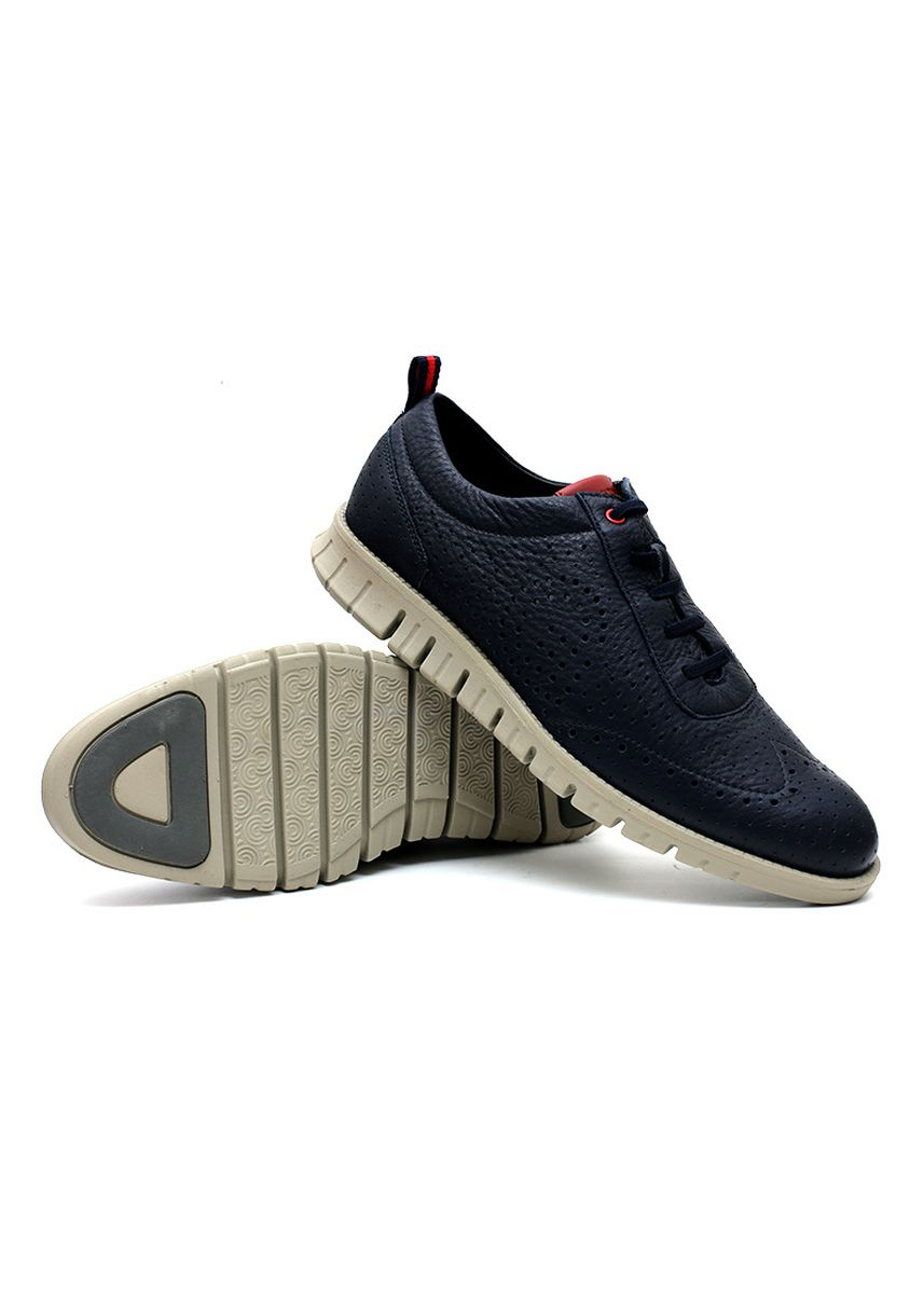 Navy color Casual Shoes . GINO MARIANI ZENON 5 Exclusive Genuine Leather Casual Men's Shoes -