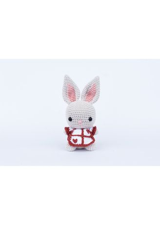 Knitting pattern Mabel Bunny Knitting Kit Easy knitting kit ... | 459x328