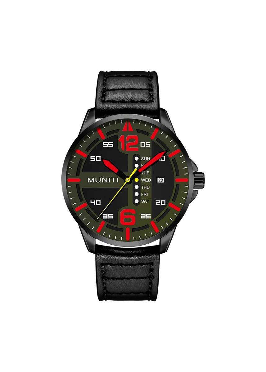 Red color Analog . Luxury Brand Quartz Watch Military 3ATM Waterproof Clock Male -