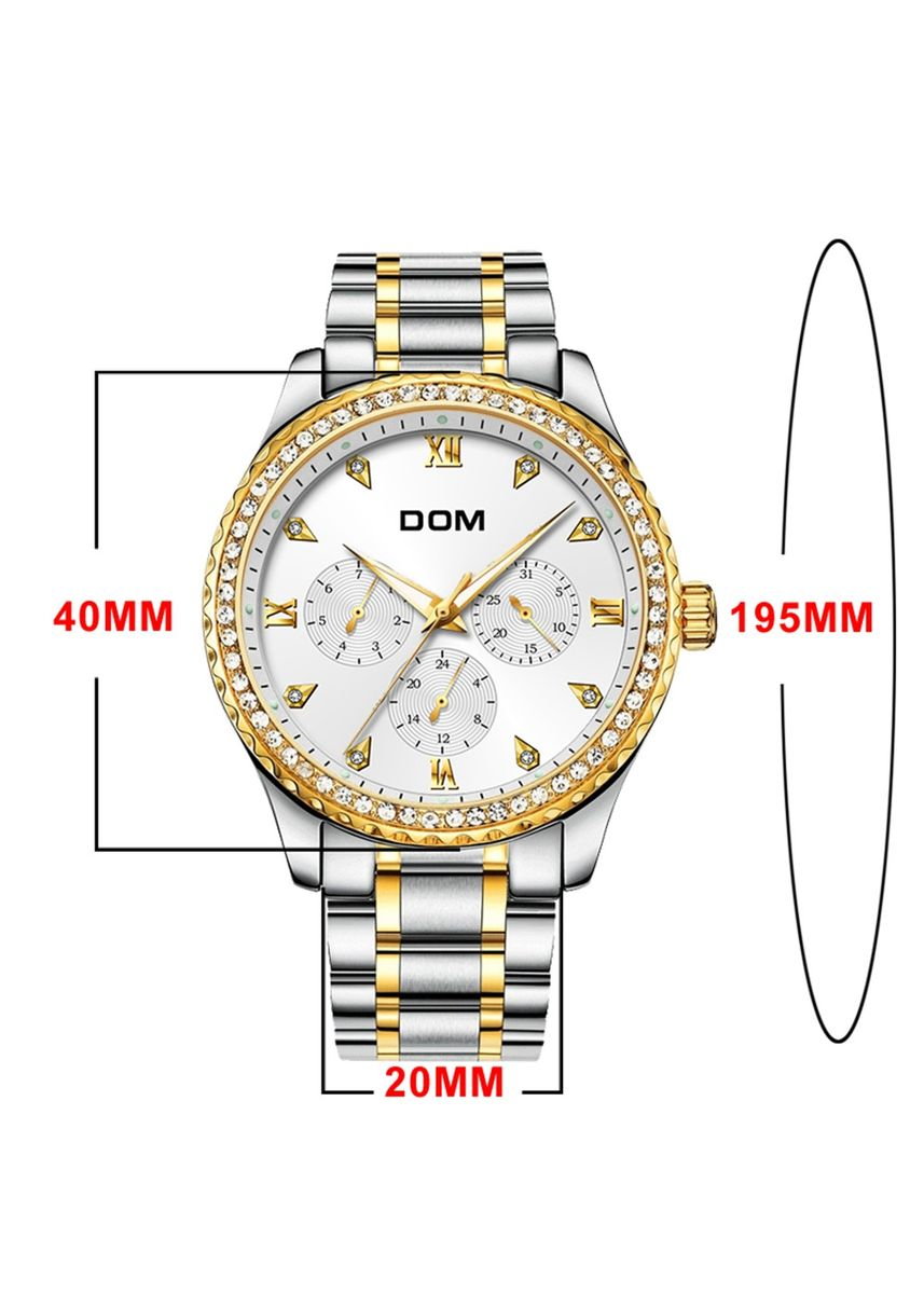 White color Analog . Casual Men's Watch 30M Water Resistant With Luminous Display -